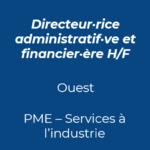 1. Directeur administratif et financier DAF industrie