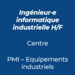 14. Ingénieur informatique industriel industrie