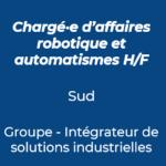 23. Chargé d'affaires robotique et automatismes industrie