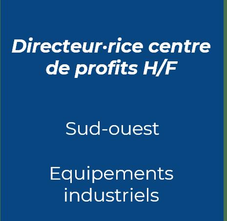 3. Directeur centre de profits industrie