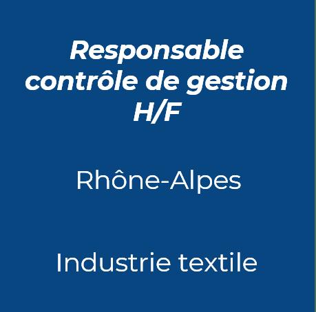 5. Responsable contrôle gestion industrie